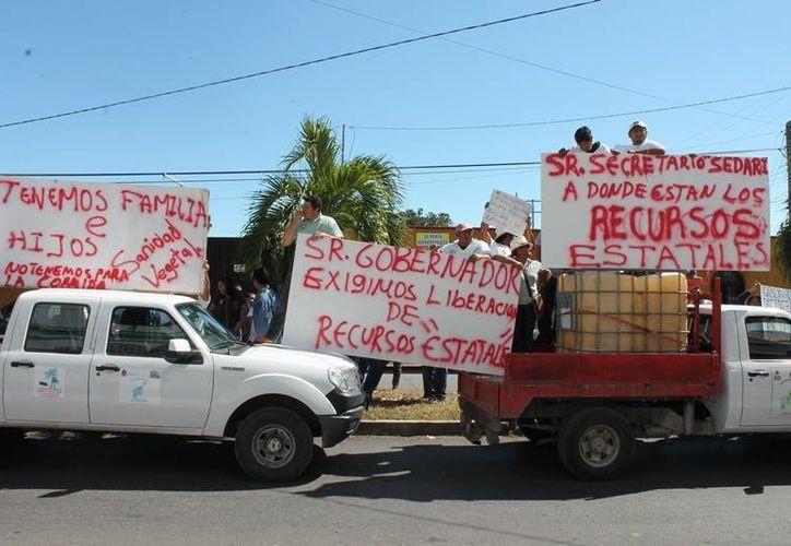 Se ha convocado a una manifestación el día lunes a las siete de la mañana. (Edgardo Rodríguez/SIPSE)