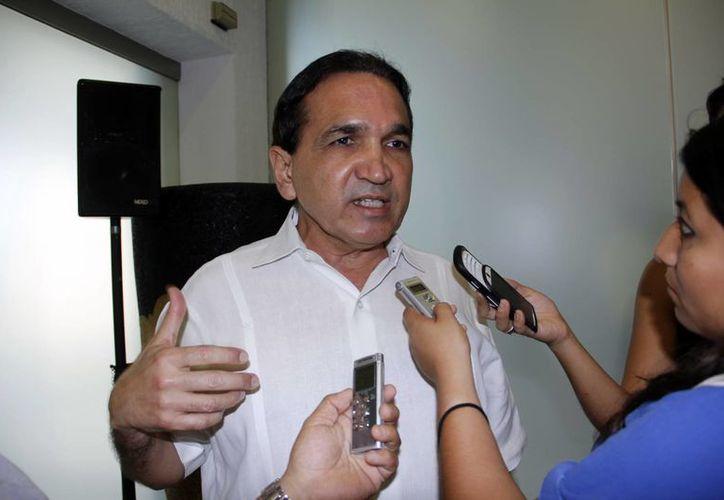 José Manuel López Campos, titular de la Canacome. (Juan Alborboz/SIPSE)