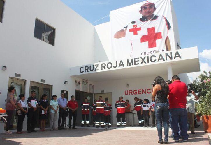 La base de la Cruz Roja en Puerto Aventuras podría reabrir sus puertas en abril. (Daniel Pacheco/SIPSE)