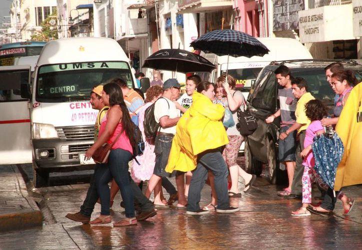 Se prevén temperaturas muy calurosas durante el día y cálidas durante la noche, este viernes en Yucatán. (Jorge Acosta/Milenio Novedades)