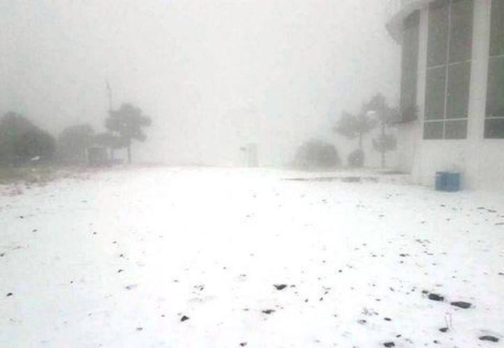 Esta condición meteorológica se debe al frente frío que afectó a casi todo el estado. (soycobre.com).