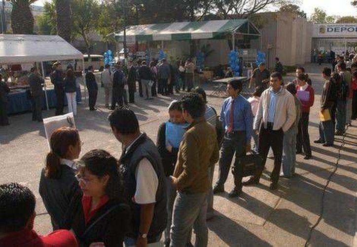 La tasa de desempleo en México bajó 0.06 puntos en octubre en comparación con septiembre. (Milenio/Foto de contexto)
