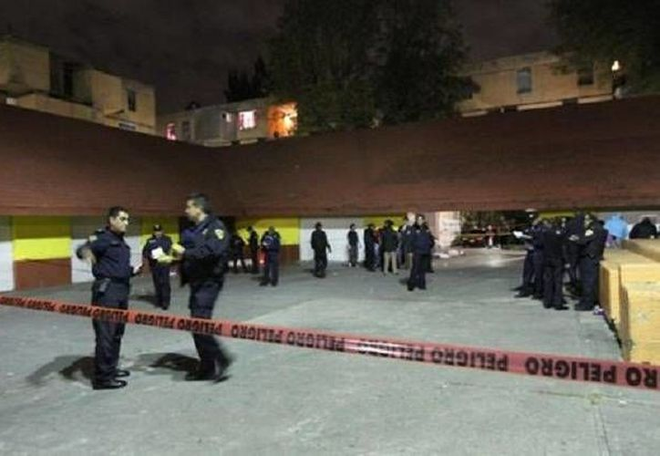 Esta es la zona en la que fueron baleadas las víctimas, en una calle de Azcapotzalco. (Milenio)