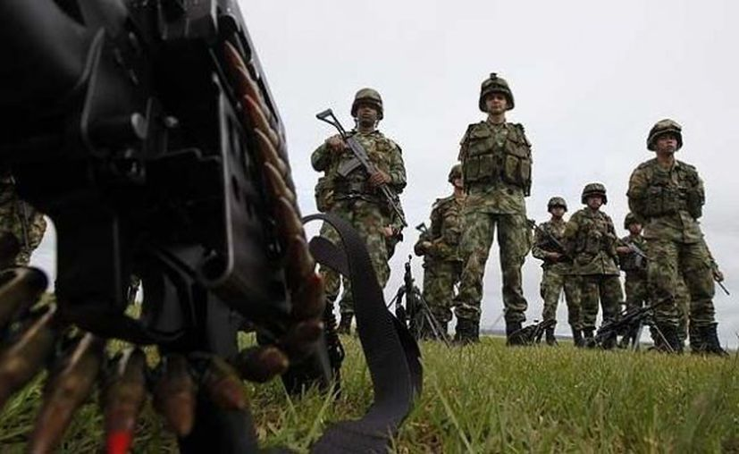 En las dos últimas semanas los organismos de seguridad alertaron sobre la preparación de una ofensiva militar por parte de las FARC. (Archivo SIPSE)