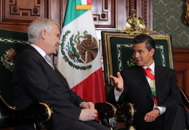 El embajador de Chile, Adolfo Carafí Melero, destacó que a México lo unen muchos lazos con su país. (Notimex)