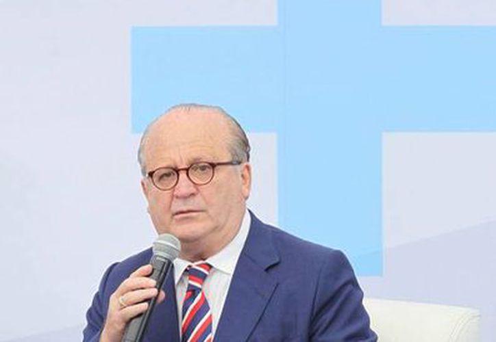 El gobernador de Morelos, Graco Ramírez, asegura que hay empresarios, periodistas y políticos interesados en que él negocio o pacte con narcotraficantes. La imagen es de archivo (NTX)