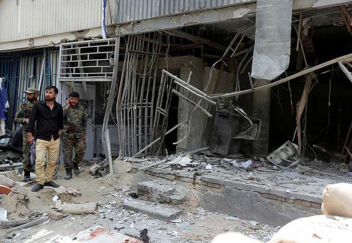 Los talibanes reivindicaron el atentado a través de un mensaje en Twitter de uno de sus portavoces, Zabihullah Mujahid. (AP)