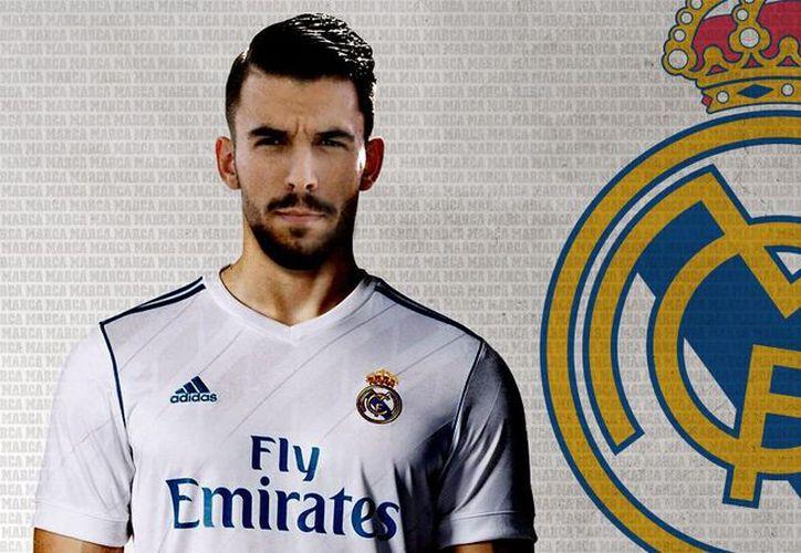 El Real Madrid anunció la llegada de Dani Ceballos. (Twitter/Marca).