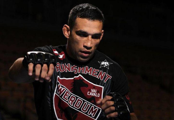 Fabricio Werdum, que es el número uno en la categoría de los pesos pesados de la UFC. (Foto/Internet)