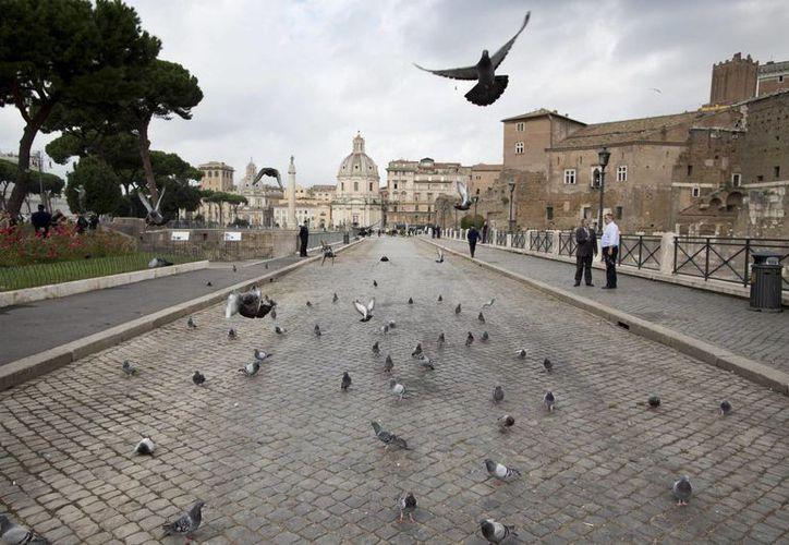 Vista general del Foro Imperial Romano en Roma, Italia. (EFE/Archivo)