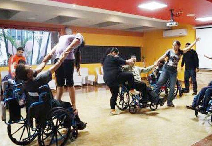 Este programa se encuentra en la segunda fase del trabajo, que tiene como objetivo la inclusión efectiva y la participación plena de las personas con discapacidad. (Cortesía.)