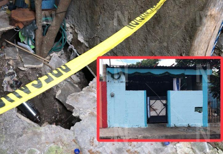 Los trabajadores de Protección Civil dijeron que regresarían para analizar la situación, pero hasta la semana pasada no habían retornado. (Novedades Yucatán)
