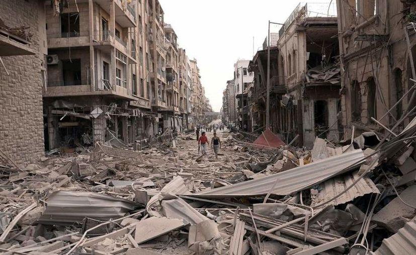 La guerra ha originando la peor crisis migratoria desde la Segunda Guerra Mundial. (GTRES)