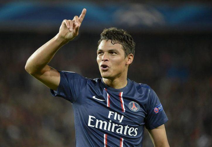 Thiago llegó al club parisino proveniente del AC Milan en agosto del 2012. (EFE)