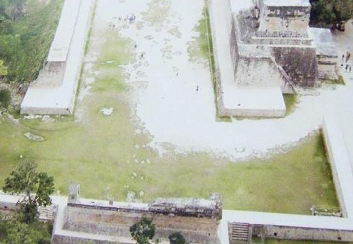 En el museo se expondrán imágenes aéreas de los edificios mayas. (Milenio Novedades)