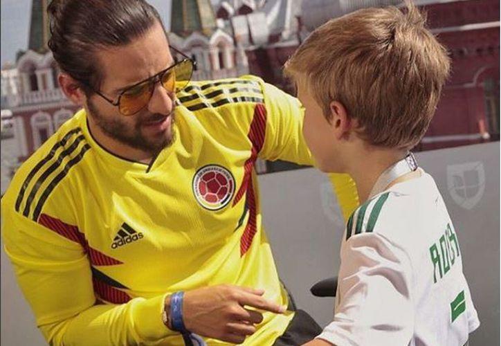 Maluma se encuentra en Rusia disfrutando del Mundial 2018. (Instagram)