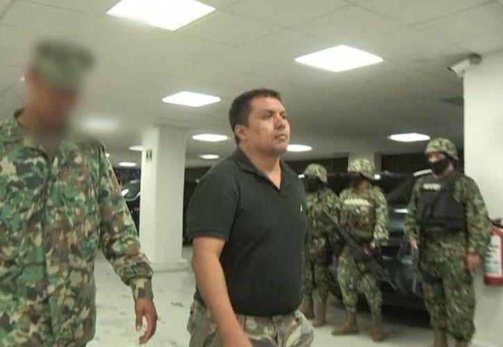 Uno de los operadores financieros de Los Zetas en la mira de EU, 'trabajaba' en Nuevo Laredo, donde fue arrestado hace días 'El Z-40' (en la foto). (Notimex)