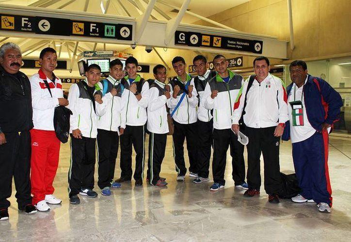 El equipo mexicano esta conformado por ocho peleadores en diferentes divisiones. (Ángel Mazariego/SIPSE)