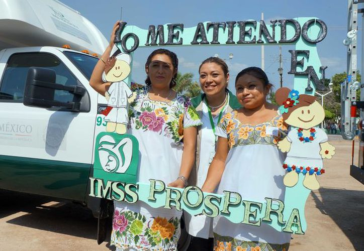 El programa 'Prospera'  apoya a las comunicades vulnerables con servicios de salud. (Foto: Milenio Novedades)