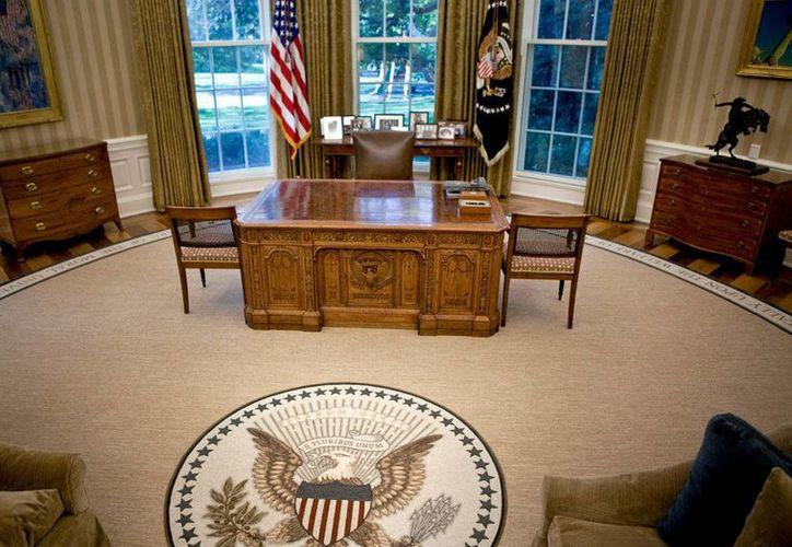 En esta oficina se encontrarán Donald Trump y Barack Obama para asegurar una tranquila transición. (Archivo/Agencias)