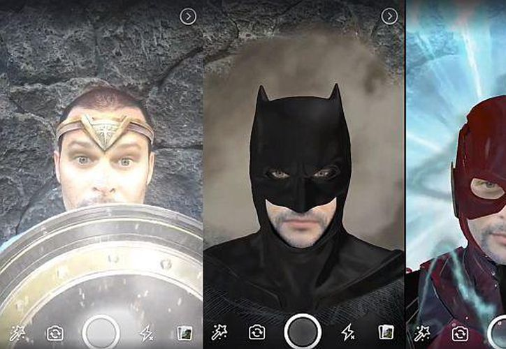 En total, son cinco los nuevos efectos de la Liga de la Justicia que puedes encontrar en Facebook. (Foto: El Comercio)