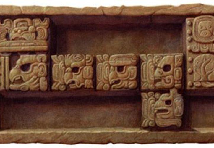 """El 'doodle', que al deslizar la flecha del mouse señala """"End of the Mayan Calendar"""", se dejó apreciar en la página del buscador en los países que amanecieron con esa fecha. (Google)"""