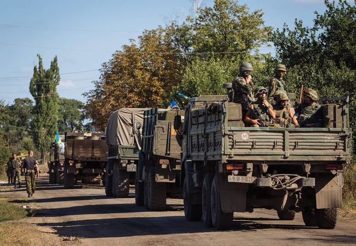 Ucrania reestableció el servicio militar obligatorio a todos los hombres desde el estallido del conflicto armado con Rusia. (EFE/Archivo)
