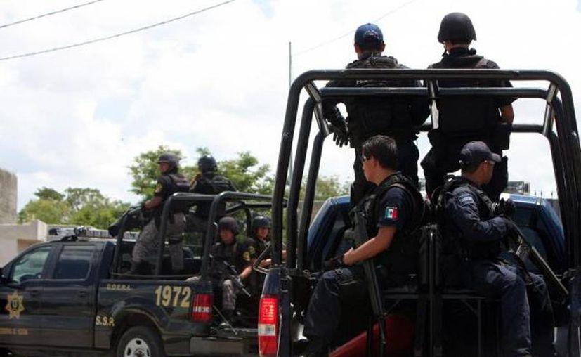 Los policías yucatecos ahora son especialistas en el manejo de situaciones de crisis. (Milenio Novedades)