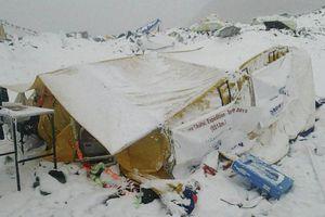 Daños por el sismo en Nepal