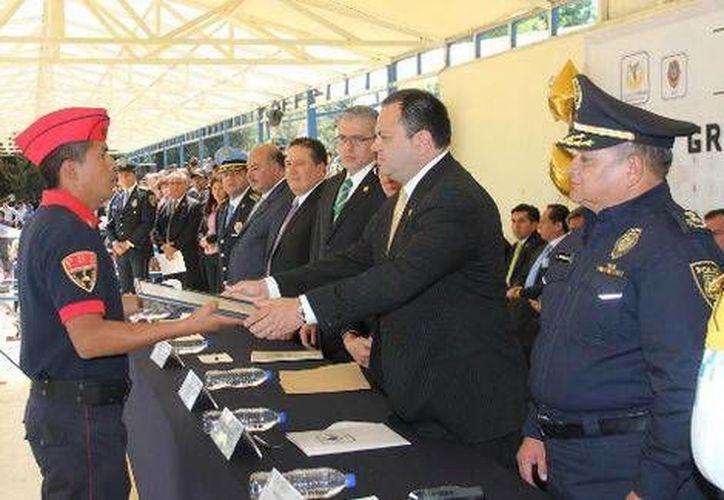 El secretario de Seguridad Pública del Distrito Federal anunció la creación de la policía turística de la Ciudad. (Milenio)