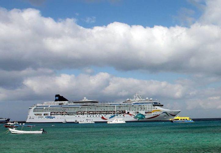 El martes 10 de noviembre desembarcarán siete cruceros en un mismo día.(Redacción/SIPSE)
