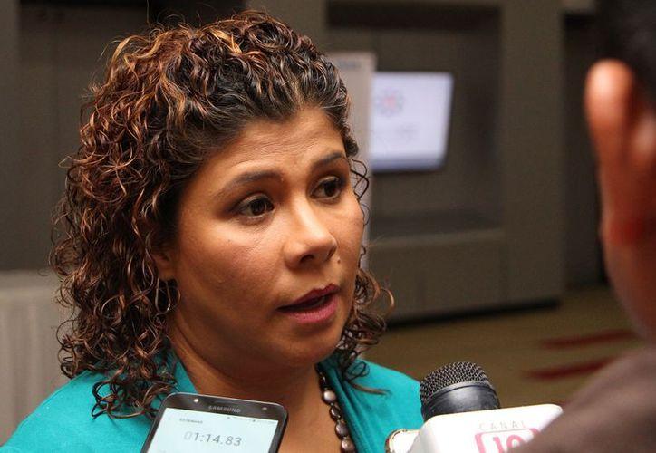 Leslie Hendricks Rubio, diputada de la XV Legislatura del Estado, mencionó que el exhorto para la asignación de presupuesto se realizó hace una semana. (Paola Chiomante/SIPSE)