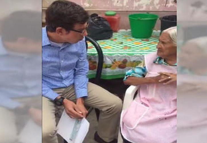 Luego de denunciar que por tener 100 años no pudo cobrar un apoyo gubernamental, María Félix Nava recibió el monto adeudado. (informador.com.mx)