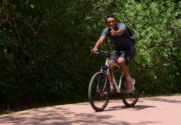 El costo de mantenimiento de una bicicleta puede ir desde 300 a 500 pesos al año. (Victoria González/SIPSE)