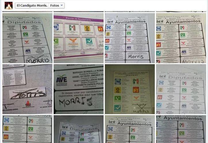 Los creadores del 'Candigato' solicitaron al IEV no anular sus votos. (Captura de pantalla)