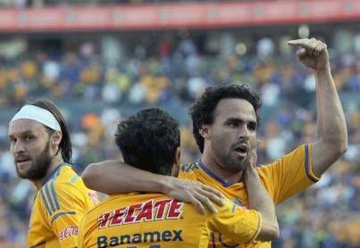 Conmebol publicó los días y los horarios en que los Tigres de la UANL enfrentarán en los cuartos de final al Emelec de Ecuador en la Copa Libertadores (Fotografía: Notimex).