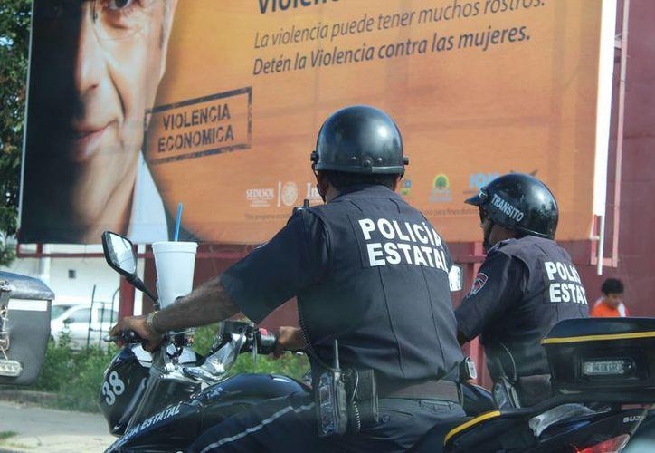 la Secretaría de Seguridad Pública está en espera de 250 resultados más de las evaluaciones a policías. (Eddy Bonilla/ SIPSE)