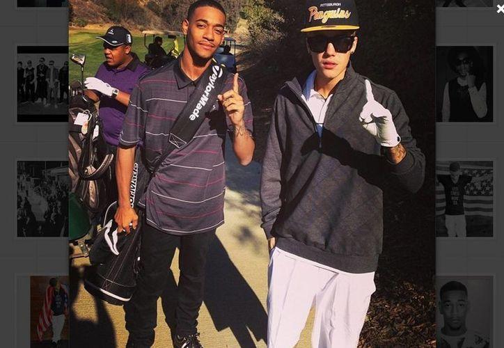 Lil Za y Justin comparten muchas fotos en redes sociales. (@LilZa)