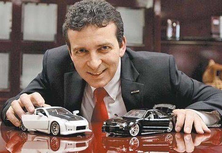 Airton Cosseau, director general de Nissan Mexicana, dijo que la estrategia es actuar directamente en el acceso al crédito. (Javier Ríos/Milenio)