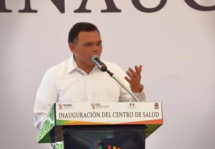 El gobernador Rolando Zapata presidirá el inicio de la edición 22 de la Semana Nacional de Ciencia y Tecnología. (SIPSE)
