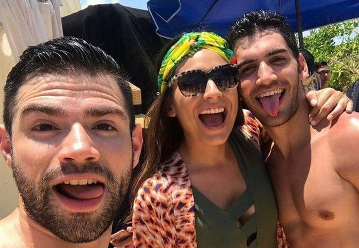 La actriz compartió en sus redes sociales su estadía en Cancún. (Instagram)