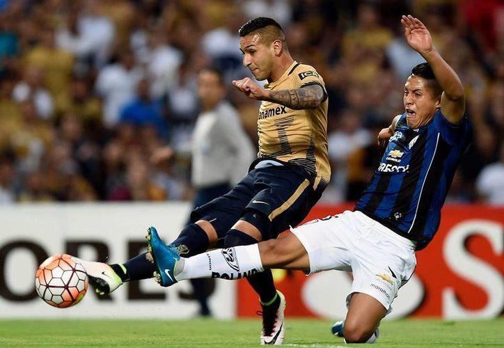 Pumas venció 2-1 a Independiente del Valle, sin embargo, este resultado obligó a unos cardiacos penales que terminaron a favor del equipo ecuatoriano Independiente del Valle. (Facebook)