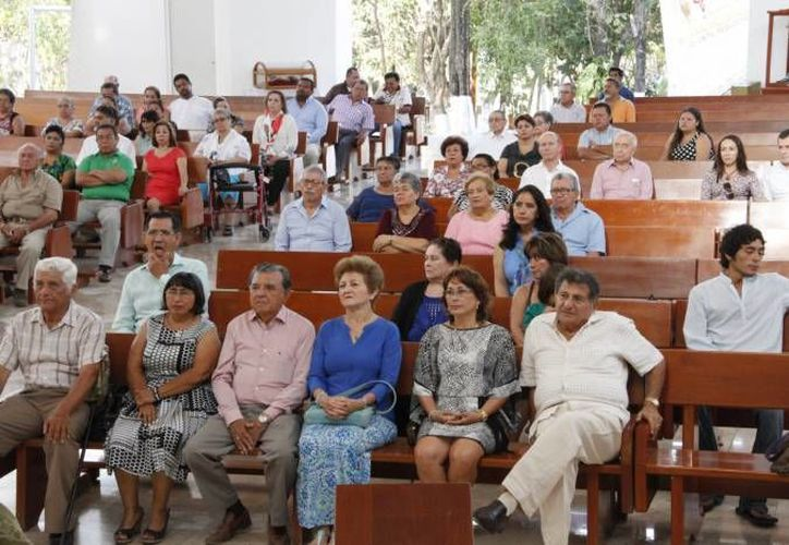 Los robos se han registrado al interior de la Cátedral de Cancún durante la celebración de la misa. (Contexto/Internet)