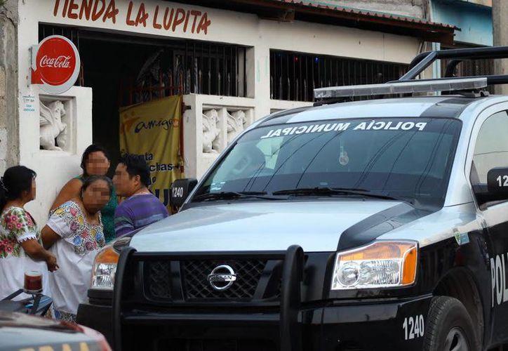 Pobladores del lugar no daban crédito del crimen que se cometió en contra de una persona con discapacidad en Kanasín. (Milenio Novedades)