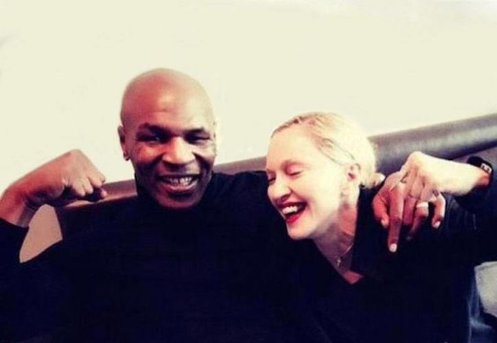 Mike Tyson intentará cantar al lado de la Reina del Pop Madonna. (Archivo/excelsior.com.mx)