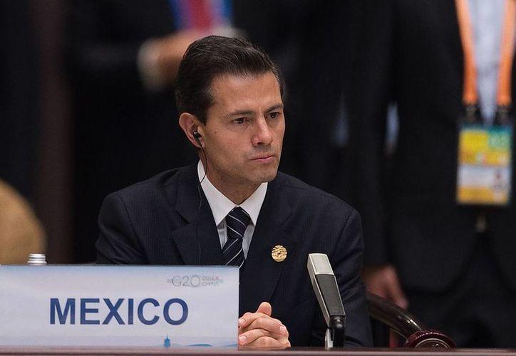 Peña Nieto participará en el Debate General del 71 Periodo Ordinario de Sesiones de la Asamblea General de la ONU. (Nicolas Asfouri/Pool Photo vía AP)