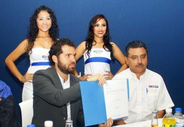 Rodolfo Rosas Cantillo, vicepresidente de los Venados del CF Mérida, prepara la siguiente temporada. (Milenio Novedades)