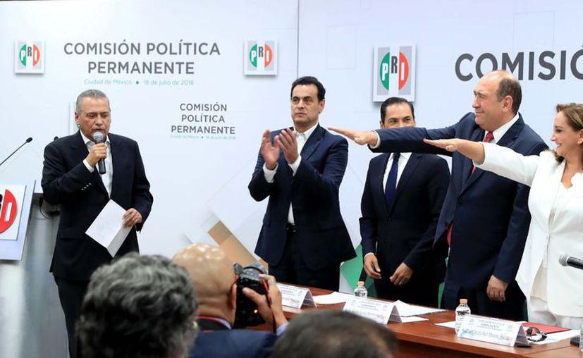 Se convierte Claudia Ruiz Massieu en la nueva presidenta del Comité Ejecutivo Nacional del Partido Revolucionario Institucional (PRI). (Cortesía)