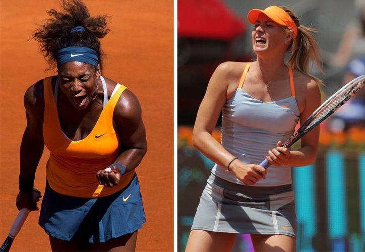 Ambas jugadoras requirieron de dos sets para avanzar a la final. (Foto: EFE)