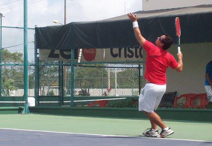 Cada vez crece el nivel del Cancún Tennis Tour. (Raúl Caballero/SIPSE)